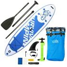 1010 Adult Inflatable SUP Stand Up Paddle Board White  Dark Blue  Black