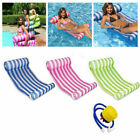 Inflatable Floating Water Hammock Float Pool Lounge Bed Swimming Chair Summer US