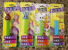 Pez Easter lot of 4, 3 bunny rabbits and 1 rubber duck, new and unopened.