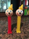 Pez Jack In The Box candy dispensers! Set of 2 - Loose