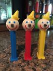 Pez Jack In The Box candy dispensers! Set of 3 - Loose