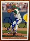 Dennis Eckersley autograph upper deck 1992 #271 Certified Athletics Red Sox Nice