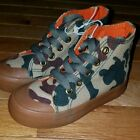 Toddler US Sports Canvas High Top Tennis Shoes Sneakers Camouflage Camo Size 8