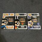LOT Funko POP DC Comics Exclusive Nightwing Batgirl Robin Dick Grayson
