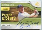 Brett Hull 2012 SP authentic golf limited parade of stars auto autograph 4 25