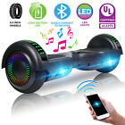 65 Bluetooth Hoverboard Electric Self Balancing Scooter w LED Light UL2272 US