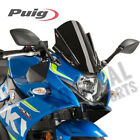 PUIG Windscreen Racing Series Black Suzuki GSX250R (2018) - 45mm