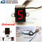 Universal Motorcycle Digital Gear Indicator LED Display Shift Level Sensor -USA
