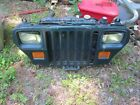 Jeep YJ Wrangler Factory Front Grille Setup