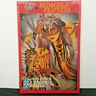FX Schmid Red  Gold Feathers 1000 Pc Puzzle Native American 1997 Sealed in Box