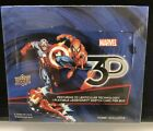 2015 Marvel 3D Hobby Exclusive Factory Sealed Box 20 Packs With 1 Sketch Card
