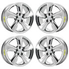 18 LEXUS GS350 GS460 PVD CHROME WHEELS RIMS FACTORY OEM SET 74210