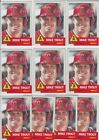 Lot of 10 2019 Topps Living Set Mike Trout 200