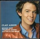 Bridge Over Troubled Water [Single] by Clay Aiken (CD, Jun-2003) **NO CASE**