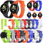 Universal Replacement Sport Soft Silicone Watch Band Strap Quick Release 20/22mm