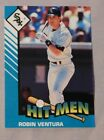 1993 Starting Lineup Hit Men Robin Ventura White Sox Baseball Card