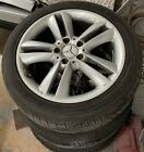 Mercedes Benz CLK 350 2007 2009 stock wheels with tires set of 4