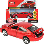 Honda Accord Red Diecast Model Car Scale 136