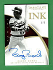 2015 PANINI IMMACULATE COLLEGIATE BARRY BONDS AUTO ON CARD IMMACULATE INK 1 5