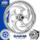 RC Components Savage Chrome Custom Motorcycle Wheel Harley Touring Baggers 21