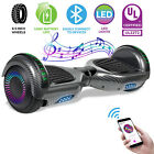Swagtron UL2272 Motorized Self Balancing Hoverboard Electric Scooter Black