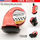 Motorcycle Car Red Horn For Suzuki Intruder Volusia VS VL 700 800 1400 1500
