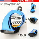 Motorcycle Car Blue Horn For Suzuki Intruder Volusia VS VL 700 800 1400 1500