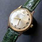 1960s Vintage Glashutte Gold Plated Mens Watch Cal. 69.1 34mm