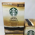 Starbucks Limited Edition Golden Smores Coffee 4 Boxes of 10 K Cup 40 Pods