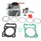 62MM Cylinder Kit for Suzuki GS GN EN GZ TU DR 125 Upgrade Engine 125cc to 150cc