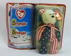 Spangle Beanie Baby Mcdonalds Ty International Bear Plush Stuffed Animal Error