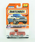 Matchbox Texaco 1956 Ford Pickup Red #56 On Card Die Cast Metal 1999 1:56