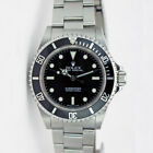Rolex Submariner Black Face Stainless Steel No Date 14060 - WATCH CHEST