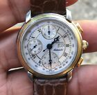 MAURICE LACROIX Masterpiece 67668 chronograph 7750 working condition,serviced