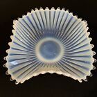 Vintage Blue Pearl Opalescent Bowl 11 Beautiful Colors