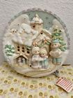 Precious Moments Sugar Town Lighted Plate