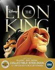 The Lion King Blu ray DVD 2017 2 Disc Set SteelBook No Digital