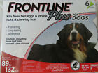 FRONTLINE PLUS DOGS 89 132Lbs FLEA  TICK CONTROL 6 DOSES NEW SEALED