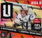 2019 Panini Unparalleled Football sealed hobby box 8 packs of 8 NFL cards 2 auto