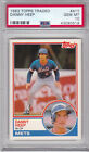1983 TOPPs TRADED #41T DANNY HEEP PSA 10