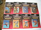 1985 HASBRO TRANSFORMERS SEALED (8) BLISTER CARD PACKS OF TRADING CARDS GROUP A