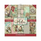 STAMPERIA AliceWonderland203X203 8X8 Double Sided Scrapbook Cards Paper