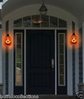 Halloween Pumpkin Porch Light Cover