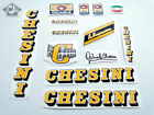 CHESINI V3 yellow decal set sticker complete bicycle silk screen FREE SHIPPING