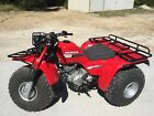 1987 HONDA 250ES ATC Big Red 3 Wheeler. ATV