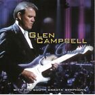 Glen Campbell In Concert with the South Dakota Symphony Autographed CD 2001 OOP