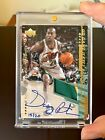 2000-01 Gary Payton Upper Deck UD Game Jersey Patch Auto 20 1 1 Supersonics
