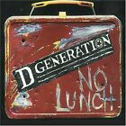 D Generation - No Lunch [1996 CD featuring Jesse Malin] Glam Punk Alternative