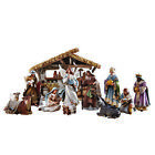 12 Piece Bethlehem Nights Nativity Scene 65 Figures Gift Boxed