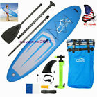 US 124 Adult surfboard Inflatable SUP Stand Up Paddle Board aquaplane Blue